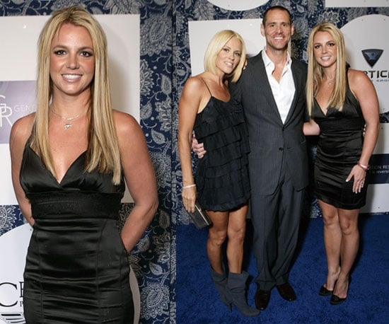 Photos of Britney Spears, Jim Carrey, Jenny McCarthy at Generation Rescue Event