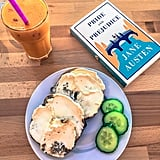 For a quick — yet just as yummy — bite to eat, check out Books and Bagels. It is here that your bagel dreams will come true, as these doughy circles are delicious! The best part? They're delivered with a generous heaping of homemade cream cheese!