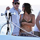 Olivia Munn held onto her Magic Mike costar Matt Bomer.