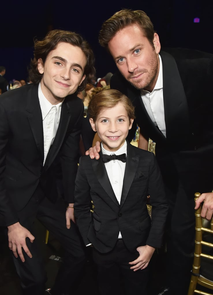 Pictured: Timothée Chalamet, Jacob Tremblay, and Armie Hammer