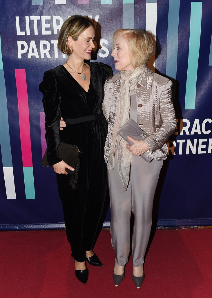 Sarah Paulson and Holland Taylor only had eyes for each other at the Literacy Partners Gala in NYC on Wednesday night. The couple, who began dating in 2015, were all smiles as they posed for photos on the red carpet holding each other by the waist. Sarah and Holland were most recently spotted at Vanity Fair's Oscars afterparty, marking their first red carpet outing in almost two years. Keep reading to see more of their sweet night out, then check out all of Sarah and Holland's cutest pictures together over the years.