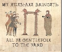 There's Proof! They Milkshaketh Long Ago