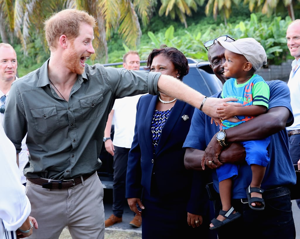 While visiting Saint Vincent and the Grenadines in November, the young royal was particularly taken by a little boy named Jyasi Junior.