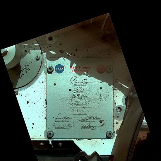 NASA's Curiosity Rover Delivers Obama's Signature to Mars