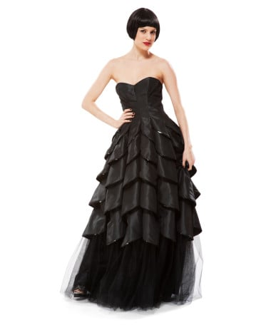 Betsey Johnson Strapless Gown ($585)