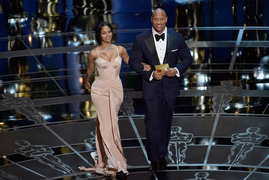 We Know, Zoe Saldana Totally Took Your Breath Away at the Oscars