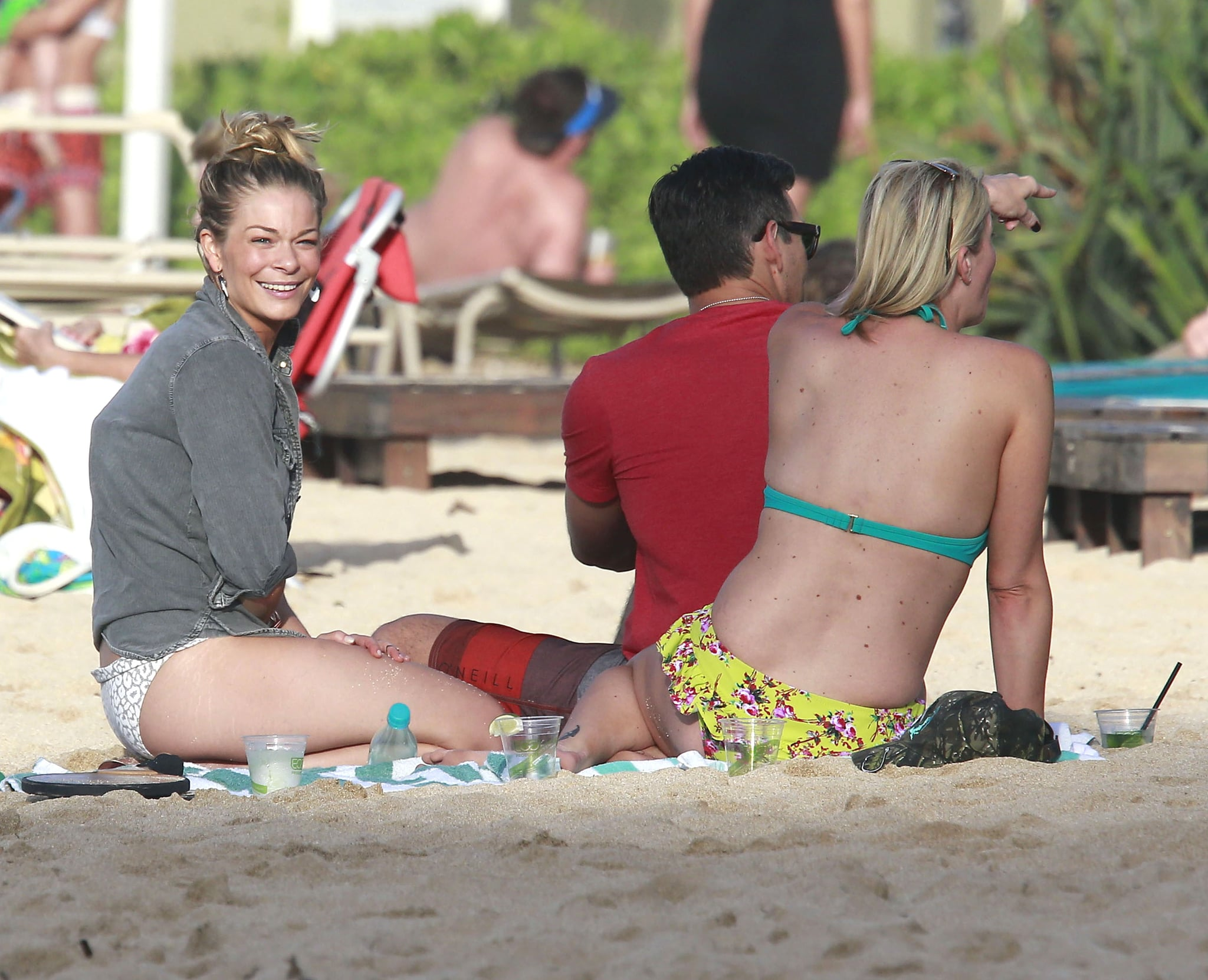 Sharks! Bikinis! PDA! See LeAnn's Hawaiian Adventures