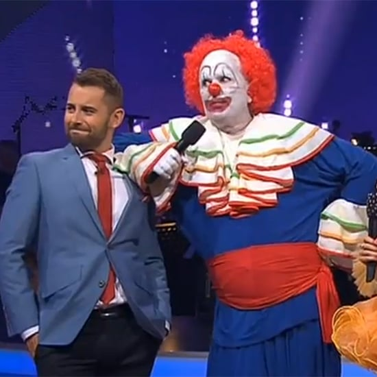 Mark Holden Creepy Clown on Dancing With the Stars 2014