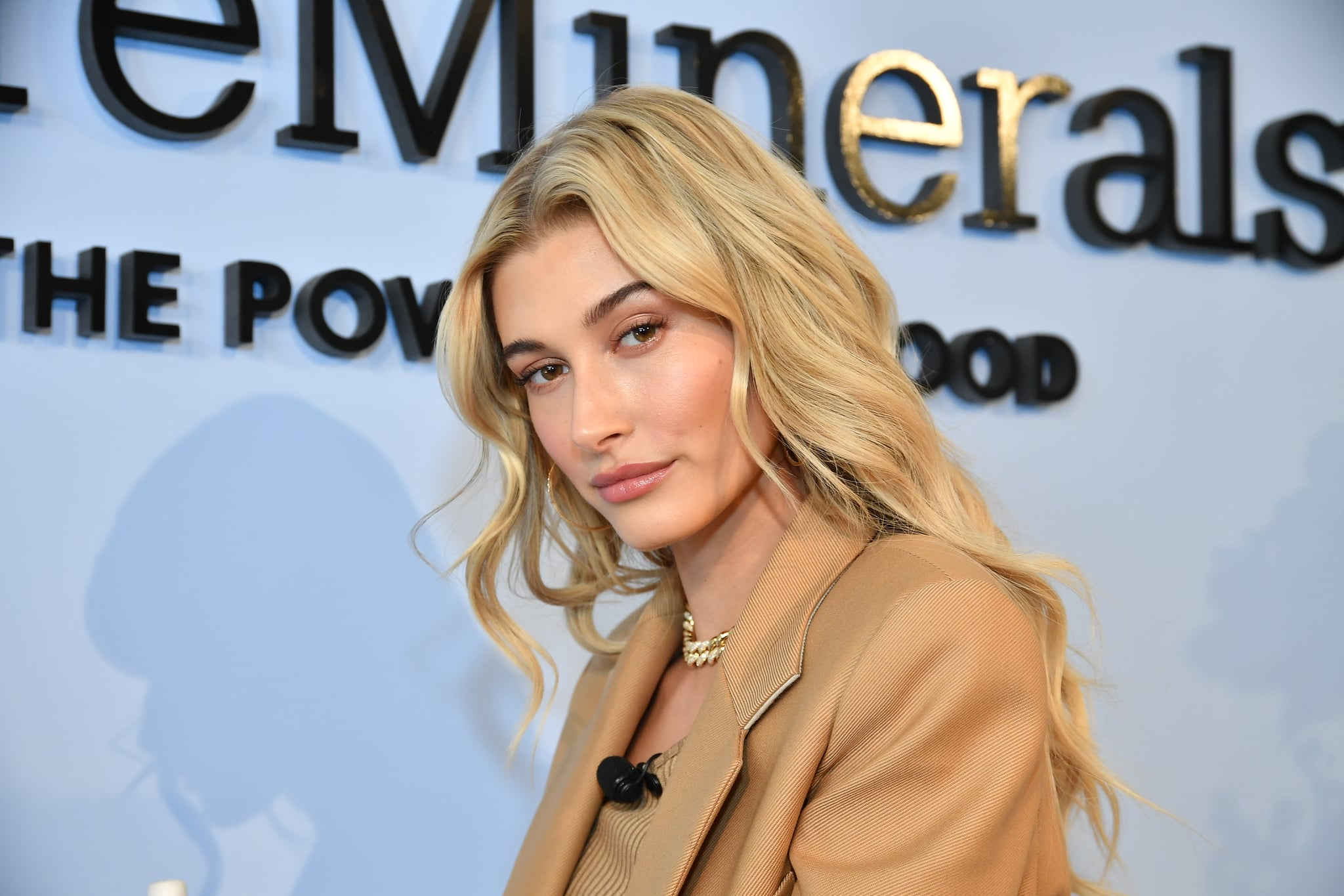 - Los Angeles, CA - 02/06/2019 - Hailey Baldwin for bareMinerals.-PICTURED: Hailey Baldwin-PHOTO by: Michael Simon/startraksphoto.com-MS63285Editorial - Rights Managed Image - Please contact www.startraksphoto.com for licencing fee Startraks PhotoStartraks PhotoNew York, NY For licencing please call 212-414-9464 or email sales@startraksphoto.comImage may not be published in any way that is or might be deemed defamatory, libelous, pornographic, or obscene. Please consult our sales department for any clarification or question you may haveStartraks Photo reserves the right to pursue unauthorized users of this image. If you violate our intellectual property you may be liable for actual damages, loss of income, and profits you derive from the use of this image, and where appropriate, the cost of collection and/or statutory damages.