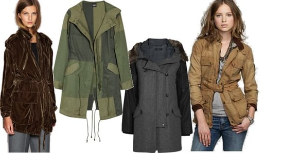 Four Perfect Parkas For Fall
