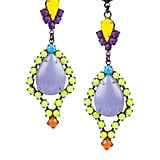 It's kind of funny that as soon as it gets cooler, I start craving brighter colors (which isn't like me at all). I don't want to go overboard on the neon front, but why not have a little fun with it? These Tom Binns Riri Painted Swarovski Earrings ($300) are chic, playful, and without a doubt, are a serious outfit statement. — Marisa Tom, associate editor