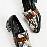Freda Salvador Rock Mid Heel Loafers