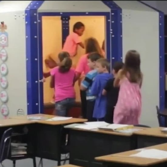 School Installed Bulletproof Shelters in Classrooms