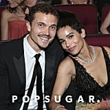 Karl Glusman and Zoë Kravitz
