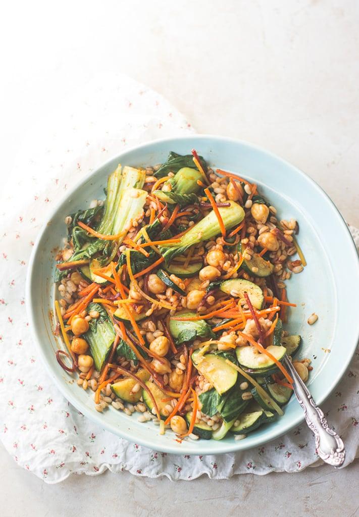Vegan Korean Nourish Bowl With Barley