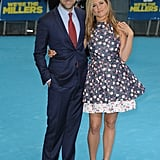Jen posed with her pal Jason Sudeikis at the London premiere of their comedy We're the Millers in August 2013.