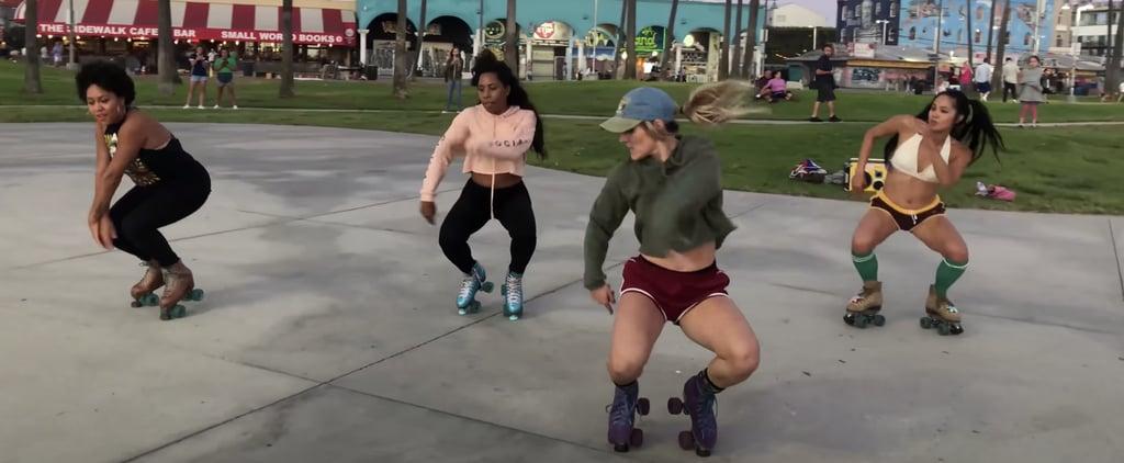 """Roller Skating Routine Set to Tyga's """"Taste"""""""