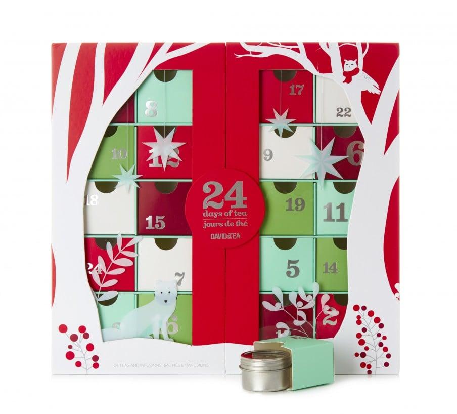 david 39 s tea advent calendar popsugar fitness. Black Bedroom Furniture Sets. Home Design Ideas