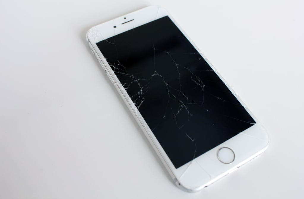 The Damaged Goods A Cracked IPhone 6