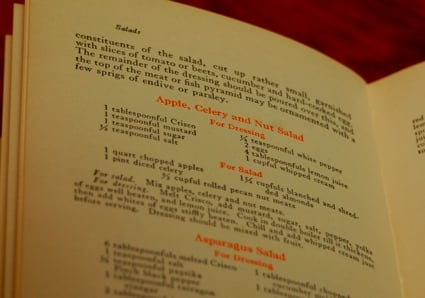 Yummy Link: Vintage Apple, Celery and Nut Salad