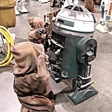 Based on the amount of photos showing repair work, droids break down regularly.  Source: Flickr User gordontarpley