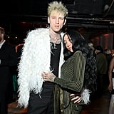 Machine Gun Kelly and Noah Cyrus at the 2020 Sony Music Grammys Afterparty
