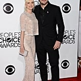 Anna Faris and Chris Pratt made an adorable couple on the PCAs red carpet.