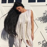 Kylie Jenner Channeled Cher With Superlong Hair and a Fringed Dress - I'm Sure Kim K Would Approve