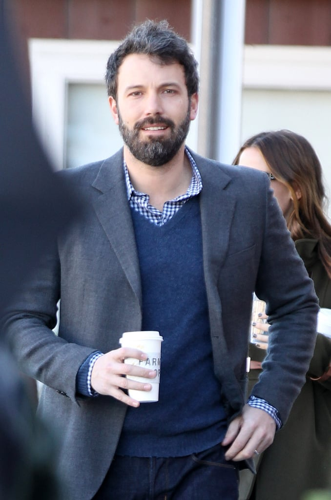 The Garner-Affleck Family at Breakfast | Pictures