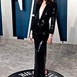 Gal Gadot at the Vanity Fair Oscars Afterparty 2020