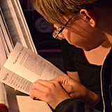 Your child is never too old to read with you.