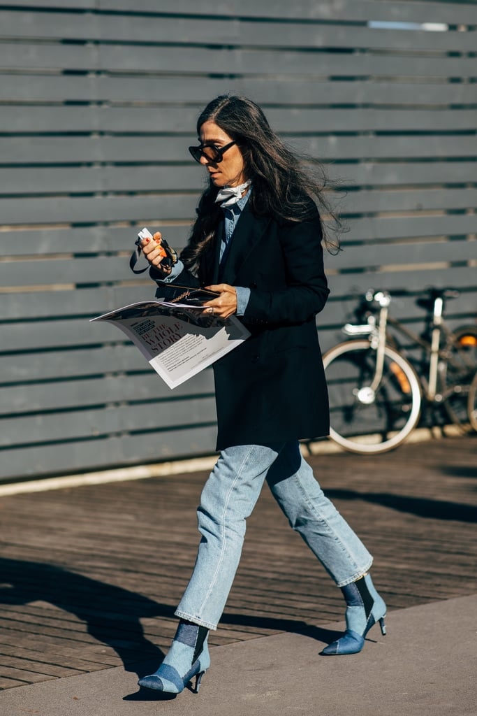 Elongate Your Legs by Matching the Fabric of Your Ankle Boot to Your Pants