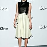 Kate Bosworth was the picture of ladylike chic, with a touch of modern edge, for Calvin Klein's Infinite Loop exhibition in South Korea.