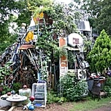 Explore the Cathedral of Junk.