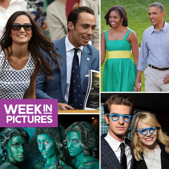 Pippa Watches Wimbledon, Obamas Get Touchy, and Emma and Andrew Goof Off