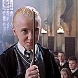 Draco Malfoy, played by Tom Felton