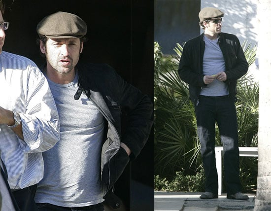 Patrick Dempsey Is a Newsboy at Heart