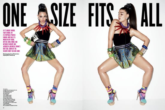 Photos of V Magazine's One Size Fits All Editorial Photographed by Terry Richardson