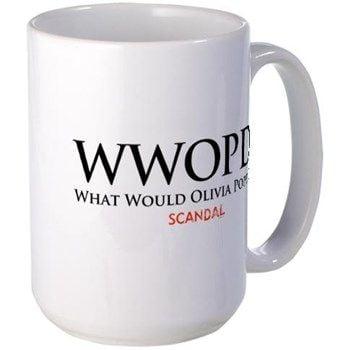 What Would Olivia Pope Do? Mug ($16)