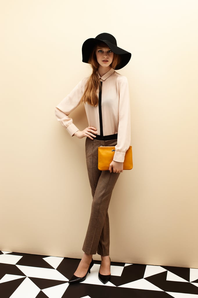 Hat $79, Shirt $149, Cropped Trouser $149 and Pouch Bag $129.