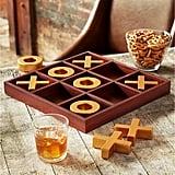 10-piece Wooden Tic-Tac-Toe Set