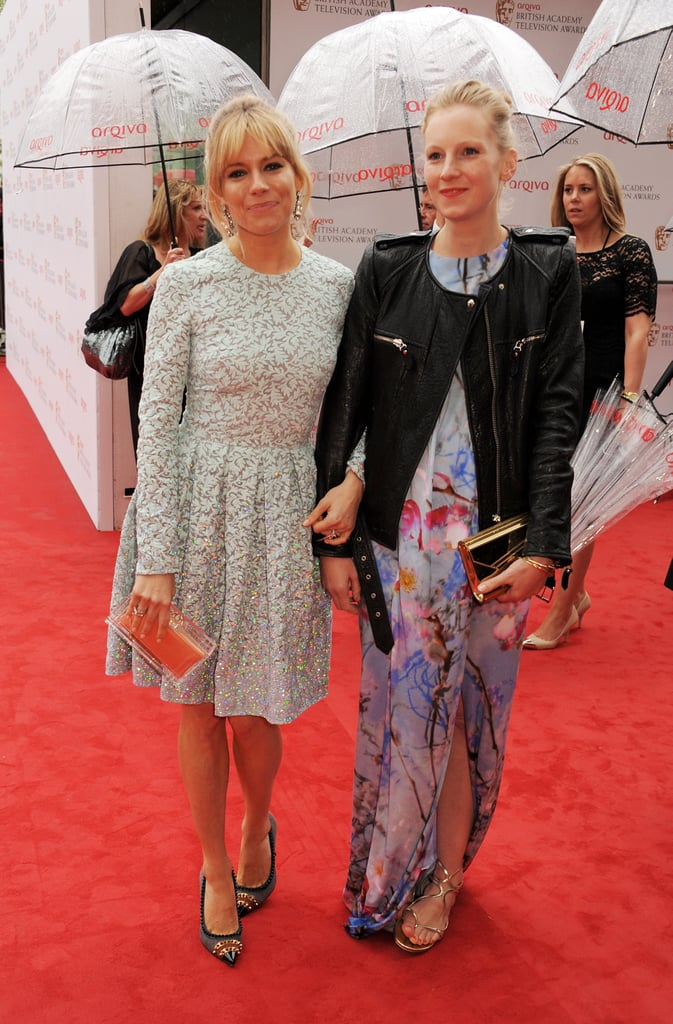 Sienna Miller and her sister, Savannah Miller, attended the BAFTA TV Awards.