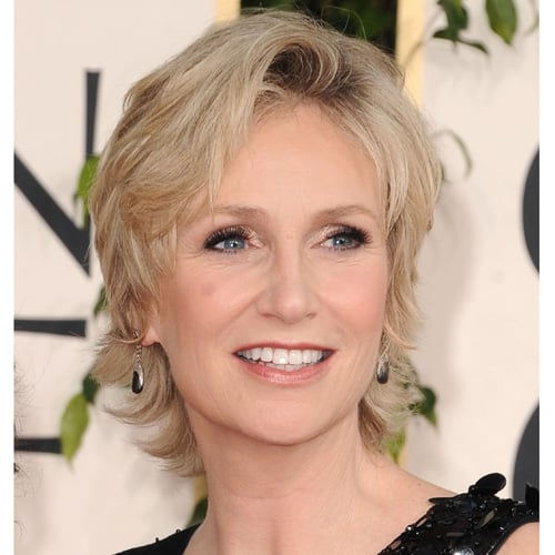 Jane Lynch at Golden Globes 2011
