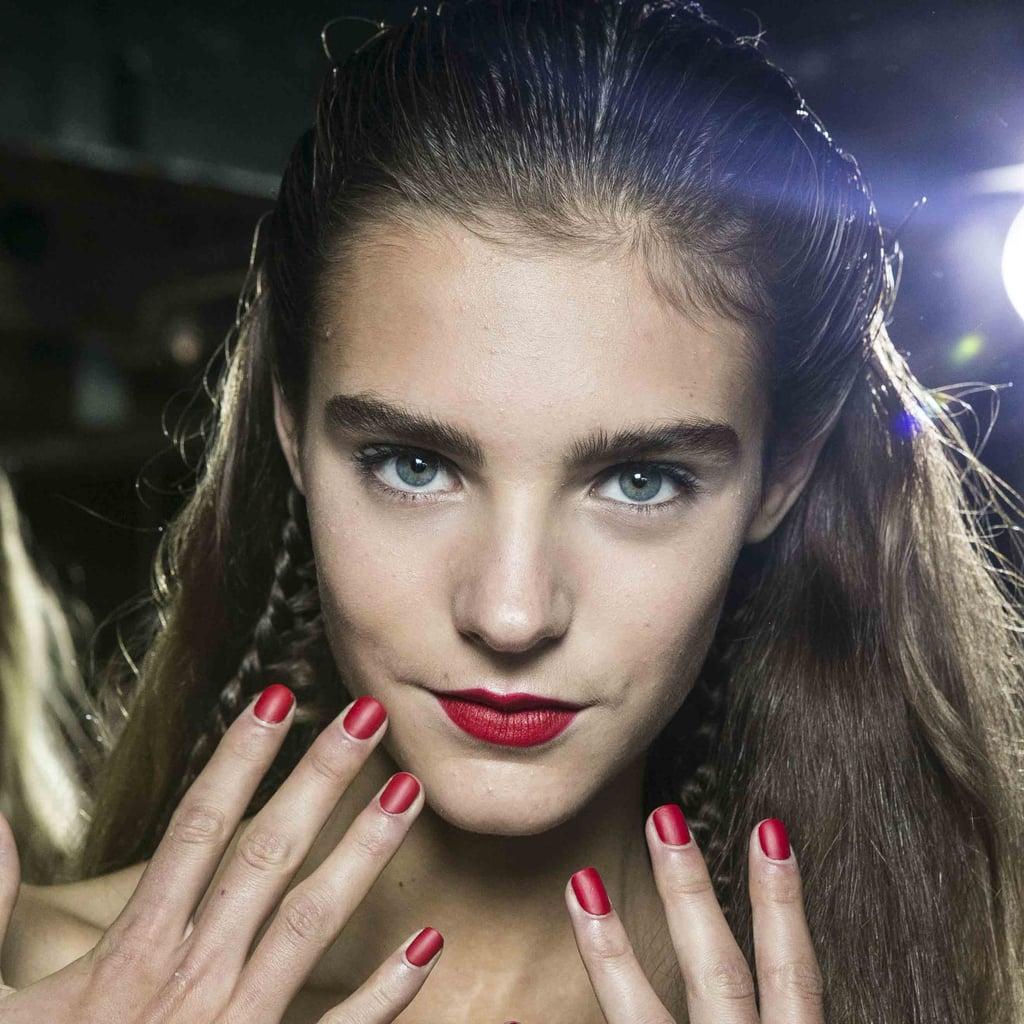 Antonio Berardi Spring 2014 Hair and Makeup | Pictures