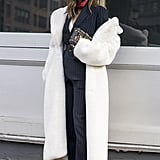 Aimee Song at Fashion Week Fall 2016