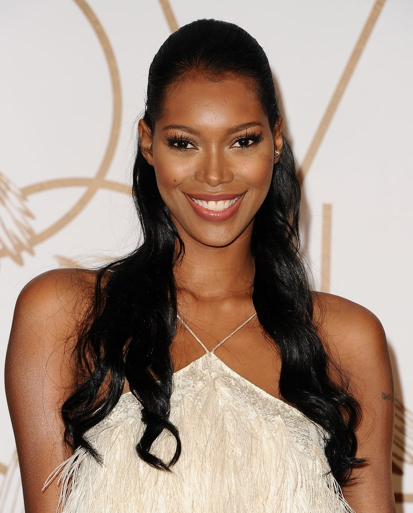 Jessica White at the LoveGold Party