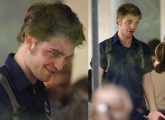 17/06/2009 Robert Pattinson, Emilie De Ravin on Remember Me set in NYC