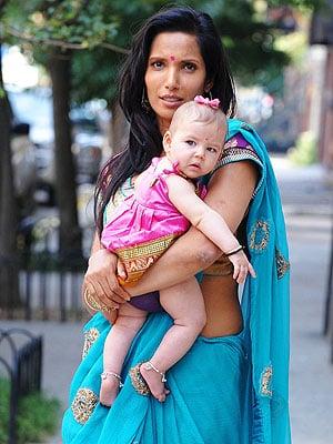 Spotted: Padma Lakshmi's Bindi Baby – Krishna!