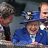 The queen watched the Diamond Jubilee Derby.