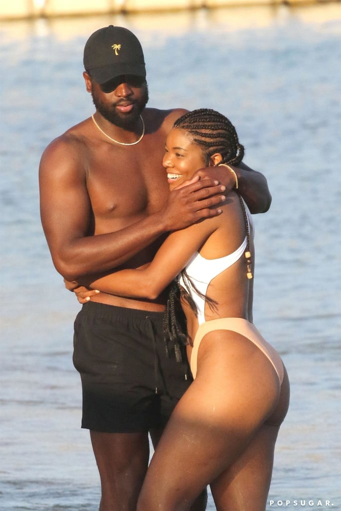 Gabrielle Union and Dwyane Wade Holiday Pictures | POPSUGAR Celebrity UK